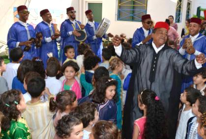 L'animation au service de l'éducation, école maria collège lycée Agadir