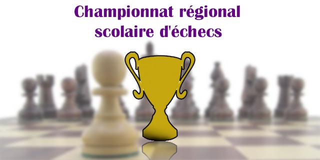 Championnat régional scolaire d'échecs