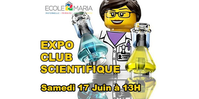Exposition Club Scientifique samedi 17 juin