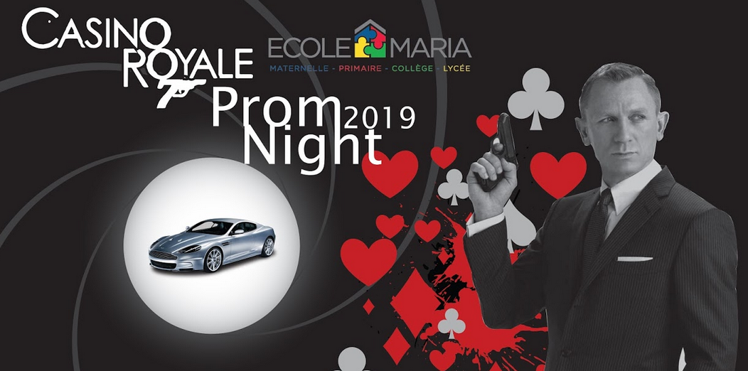 Casino Royale Prom Night 2019
