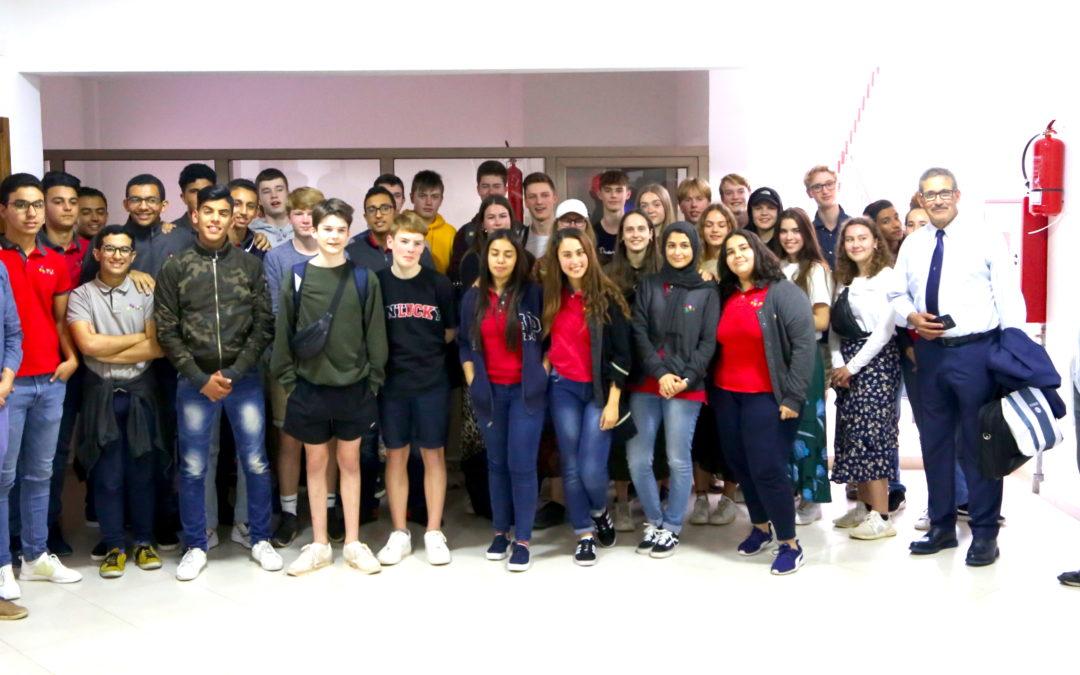 Des Danois à l'École Maria