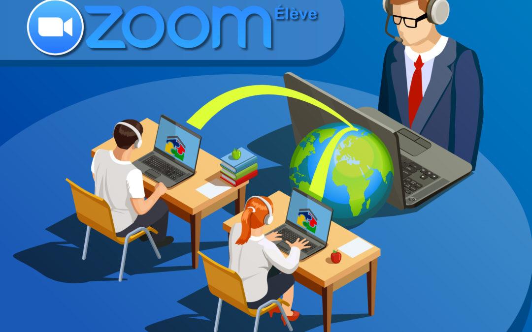 Manuel d'utilisation des classes virtuelles Zoom Élève