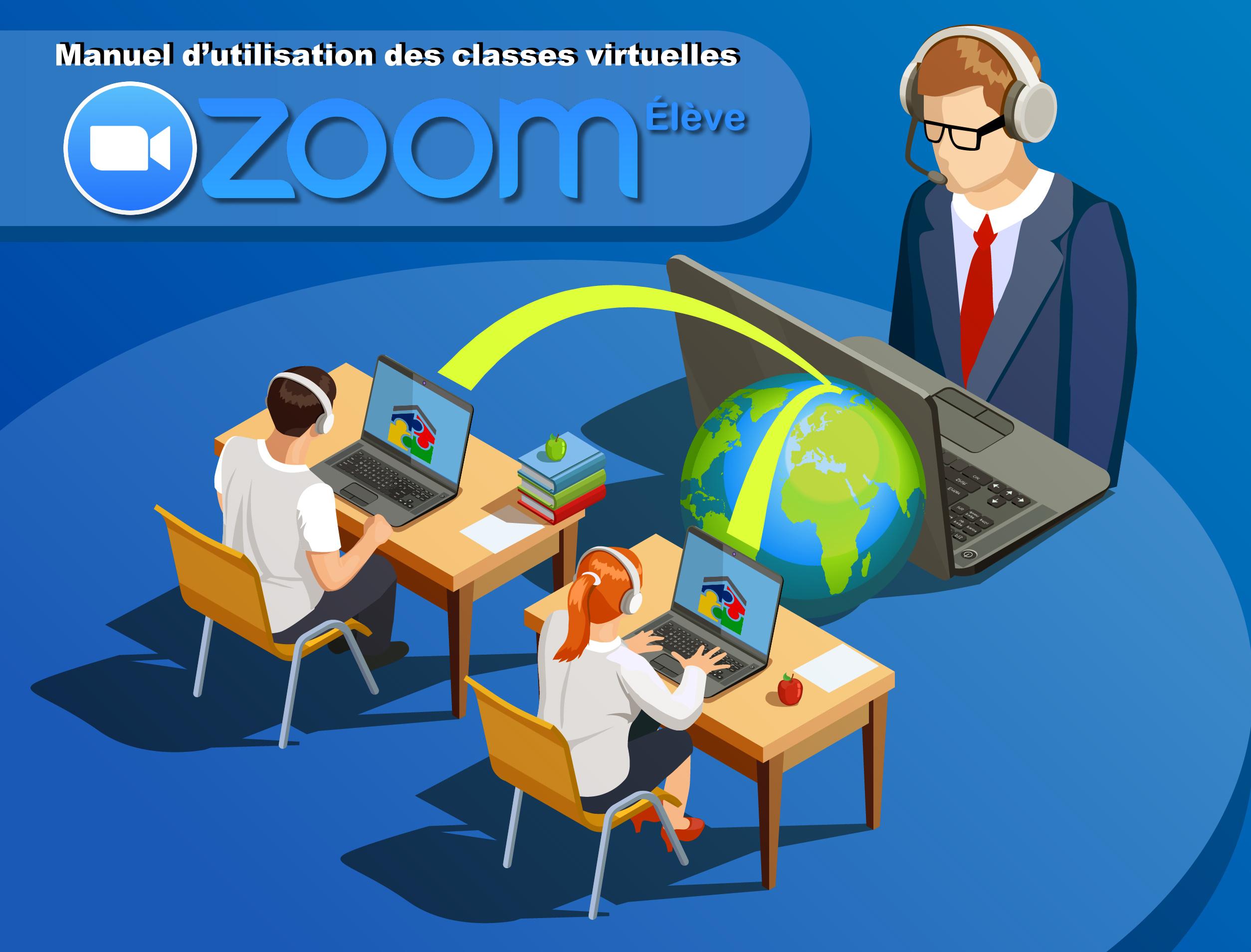 Manuel d'utilisation des classes virtuelles Zoom Élève - ecole maria Agadir