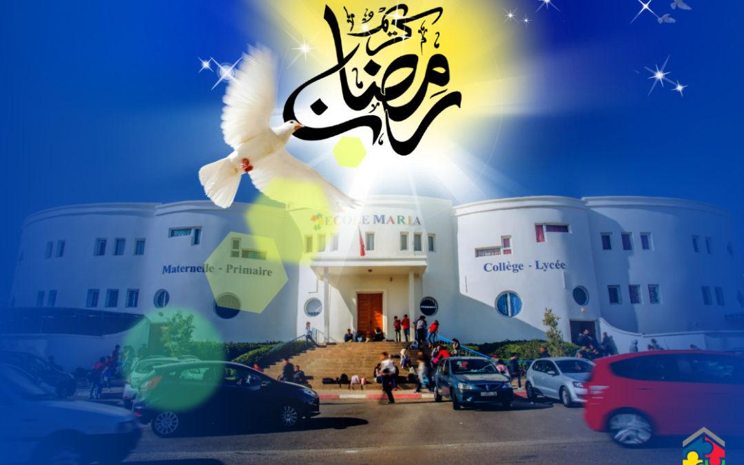 Félicitation à l'occasion de l'avènement du Mois de Ramadan